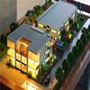 Customerized Beach Plan ,Architectural model With Model Landscape Plan For Developer