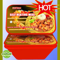 2015 Halal Ready Meal Parboiled Instant Self-heating Rice