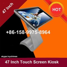 high end 47 Inch full hd 1920x1080p interactive all in one pc self service kiosk