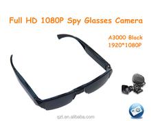 A3000 spy Sunglasses Video Recorder Full HD 1920*1080p hd Mini Hidden Eyewear Glass Camcorders Mini DV DVR