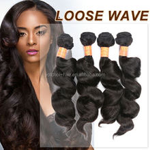 2015 Brazilian Hair Weave, virgin brazilian loose wave bundles, Top Quality Cheap Brazilian Hair Bundles