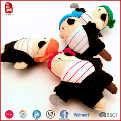 2015 hot sale low price pirate plush toy wholesale