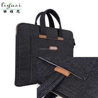 Black Laptop Messenger Bag for Business Fashion Profession Manufacturer