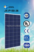 2015 fourth season most popular and hot sale poly solar panel 150w with attractive price