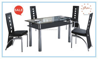 european style glass classic dining table