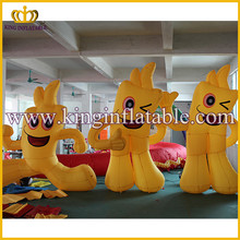 2016 new hot sale cheap inflatable cartoon for advertising