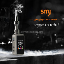 interesting products 2015 electronic cigarette saudi arabia hybrid mod kit smy60w temp control dry herb vaporizer