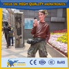 Fiberglass Life Size People Sculpture Statue for City Decoration