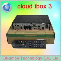 ox 3 Twin Tuner Receiver DVB S / S2 + T2 /C Cloud Ibox iii Decoder Samsat HD