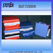 fashional sublimation printing 210D Oxford cloth portable soccer seat cushion