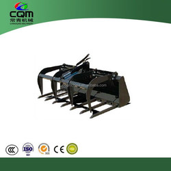 Fork Factory direct sales!Skid steer attachment wood grapple