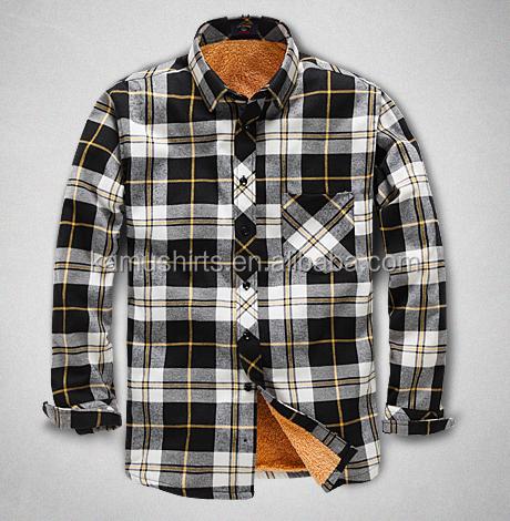 wholesale flannel shirt thermal shirt plaid shirt buy