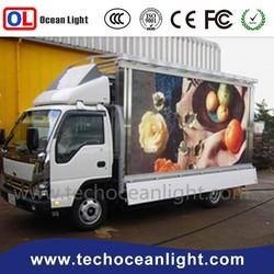 2015 Oceanlight LED Motorcycle billboard alibaba shoes truck mobile led display