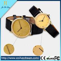 Beautiful Alloy Vintage Retro Ultrathin Couple Watch