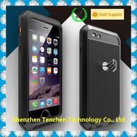 China Supplier Luxury Gorilla Glass waterproof shockproof aluminum case for iphone 6
