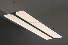 contemporary 60W LED crystal flat pendant Light CE approved