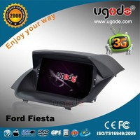 "ugode 7"" Ford Fiesta DVD multimedia with 3G GPS radio bluetooth"