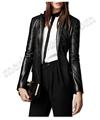 la mujer chaquetas de cuero estilo