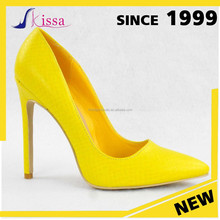 China Wholesale Beautiful Elegant Sexy Pointed Toes lady High Heel Women big size Pump Shoes