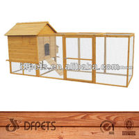 Wooden Duck Cage With Metal Trays DFC020