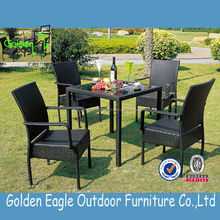 outdoor rattan garden dining set Restaurant Furniture