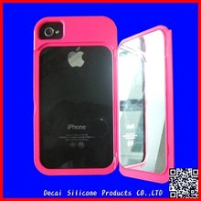 Mirror Series Silicone Protective Case For iphone 4