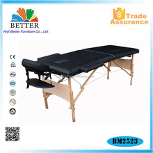 Better wooden antigravity massage table with carry bag