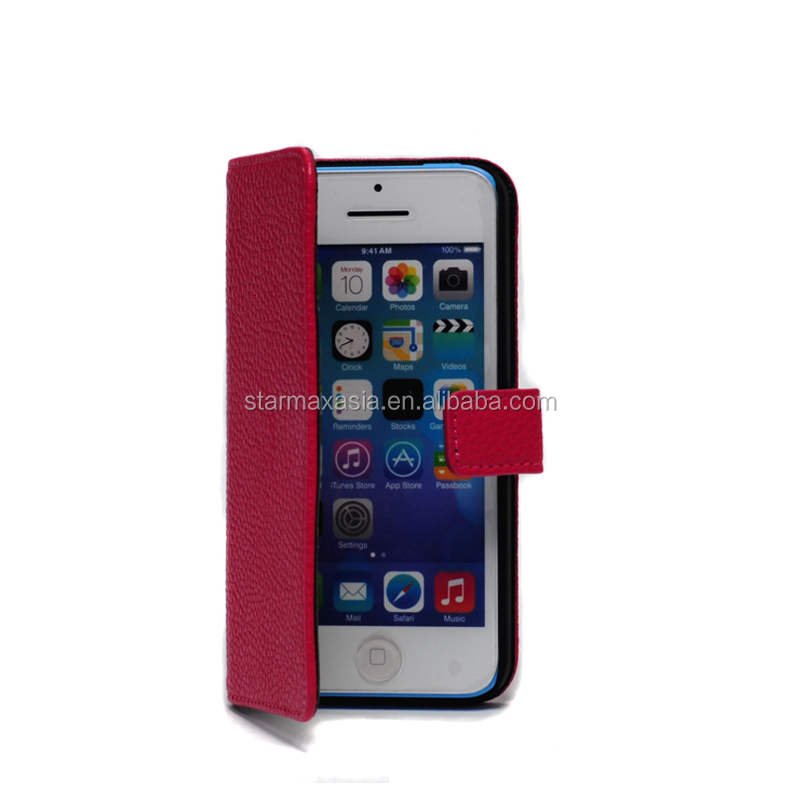 Premium for iPhone 5C PU leather case