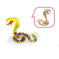 DIY painting wooden toy snake