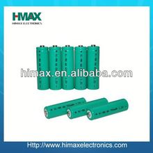 high quality china battery nimh aa 100mah 1.2v aa rechargeable battery