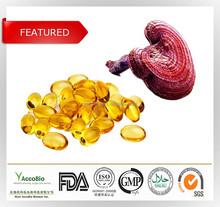 Natural Ganoderma lucidum extract wholesale, Reishi mushroom(Ganoderma lucidum) extract, Ganoderma lucidum spore oil softgels