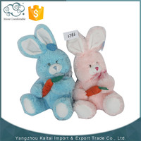 Premium quality wholesale soft pink rabbit plush toys