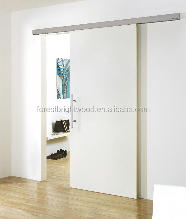 Artistic partition wall wooden sliding door dressing for Sliding door partition wall
