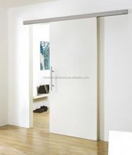 Artistic Partition Wall Wooden Sliding Door , Dressing Room Sliding Door
