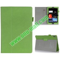 Flip Stand Leather Case Cover for Lenovo A7600 A10-70 with Armband Belt
