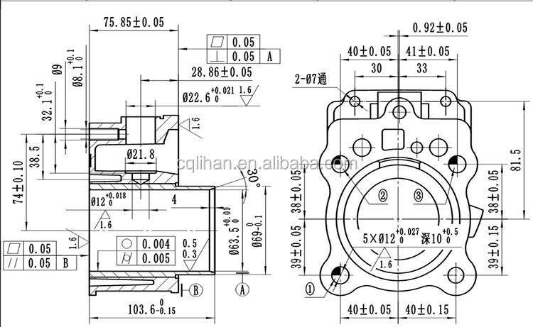 china supply original lifan motorcycle  tricycle engine