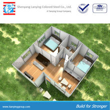 Modern design high quality prefabricated house for accommodation and office use