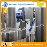complete Full automatic PET plastic bottle drinking pure mineral clean water filling machine