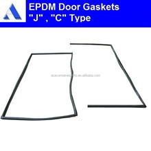 Shipping container door gasket