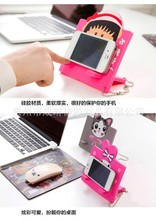 Wholesale cheap silicone desk mobile phone display stand