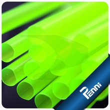 Food Grade PP Unwrapped Large Plastic Drinking Straw