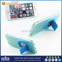 PC+TPU Phone Case For iPhone 6 With Rotating Stents