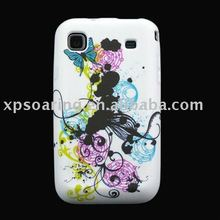 soft TPU music case skin back cover for Samsung Galaxy i9000