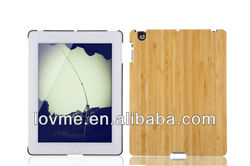 Fashionable Natural Wooden Bamboo Case For Ipad Mini