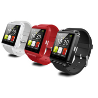 U8 smart watch phone +pedometer + altimeter + barometer +answer call + music display +message +anti lost +
