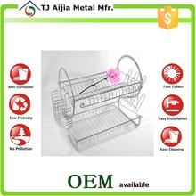 sturdy kitchen Metal Wire Dish Drainer racks