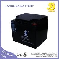 12v40ah kanglida solar hot sale battery for ups 12v battery charger
