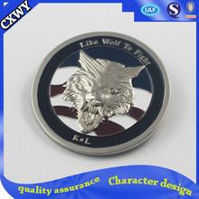 Popular club metal custom badges
