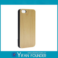 2014 walnut maple cherry wood mobile cover for iphone6, 100% real bamboo phone case for iphone 6