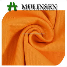 Mulinsen Textile Heavy Weight Solid Dye Twill Polyester Cotton Fabric For Garment